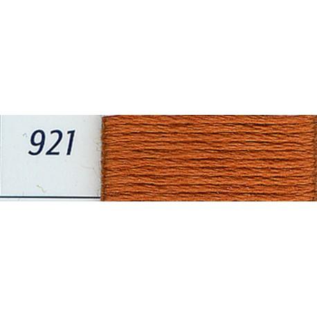 DMC mouliné embroidery thread, col. 921