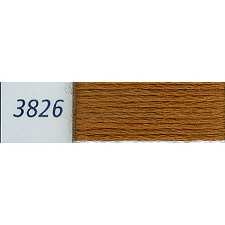 DMC mouliné embroidery thread, col. 3826