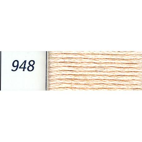 DMC mouliné embroidery thread, col. 948