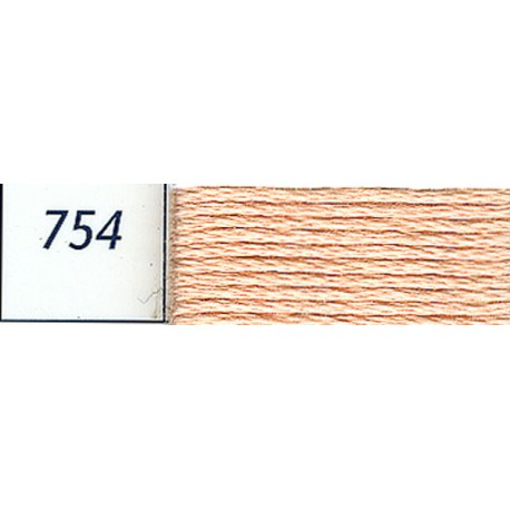 DMC mouliné embroidery thread, col. 754