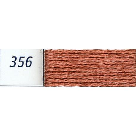 DMC mouliné embroidery thread, col. 356