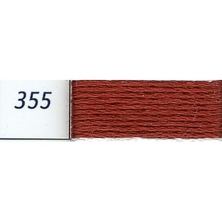 DMC mouliné embroidery thread, col. 355