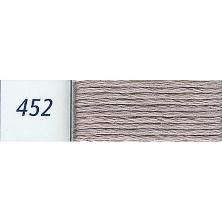 DMC mouliné embroidery thread, col. 452