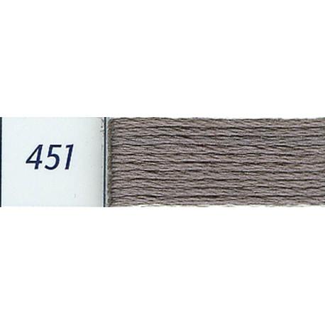 DMC mouliné embroidery thread, col. 451