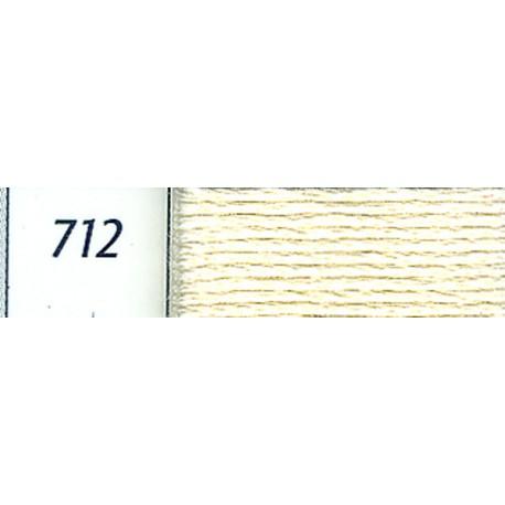 DMC mouliné embroidery thread, col. 712