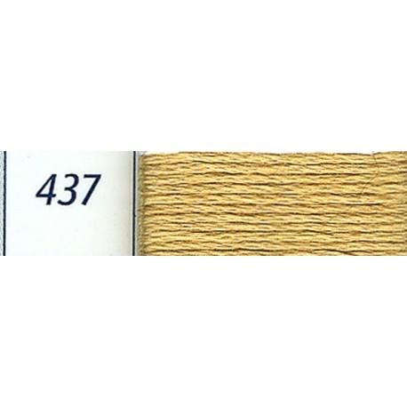 DMC mouliné embroidery thread, col. 437