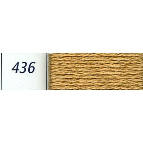 DMC mouliné embroidery thread, col. 436