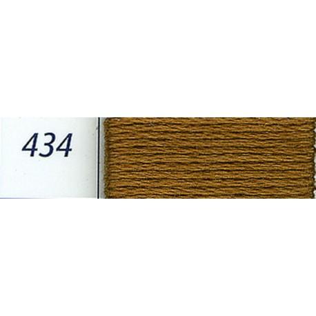 DMC mouliné embroidery thread, col. 434