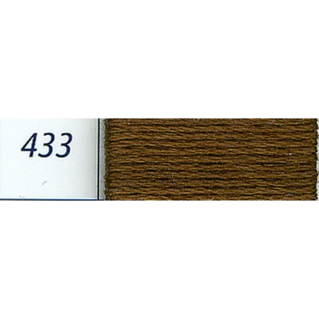 DMC mouliné embroidery thread, col. 433