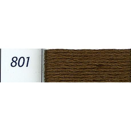 DMC mouliné embroidery thread, col. 801