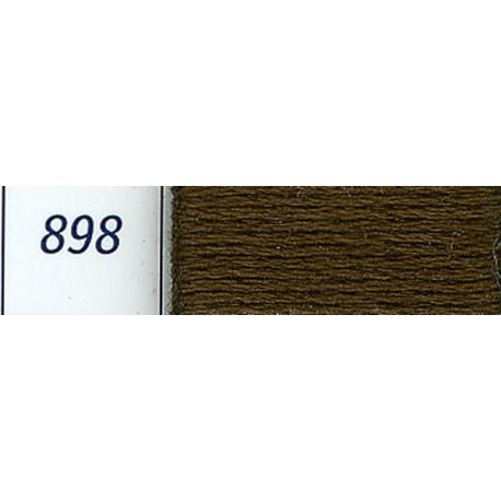 DMC mouliné embroidery thread, col. 898