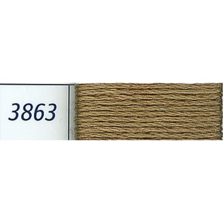 DMC mouliné embroidery thread, col. 3863