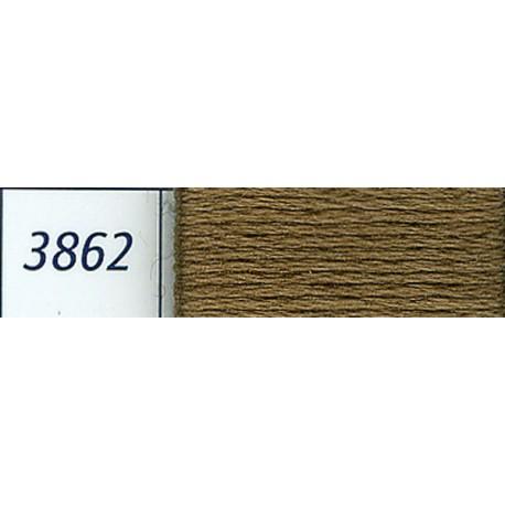 DMC mouliné embroidery thread, col. 3862
