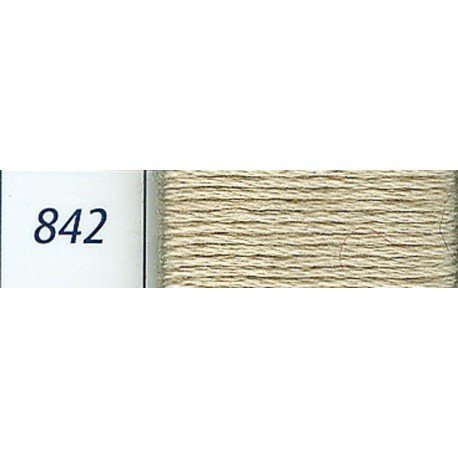 DMC mouliné embroidery thread, col. 842