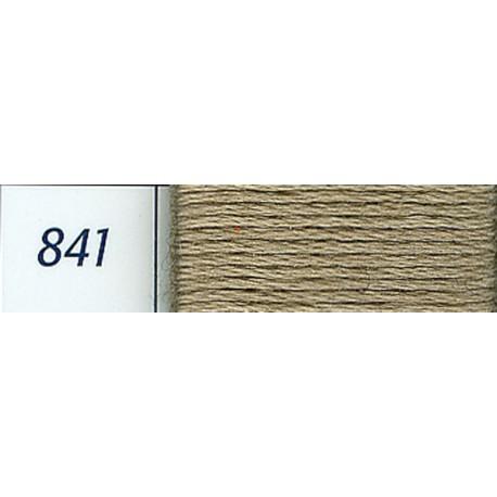 DMC mouliné embroidery thread, col. 841