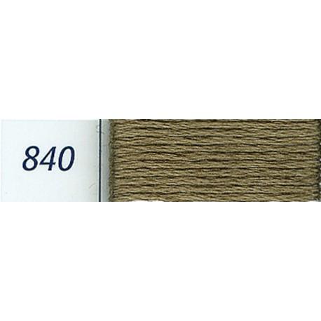 DMC mouliné embroidery thread, col. 840