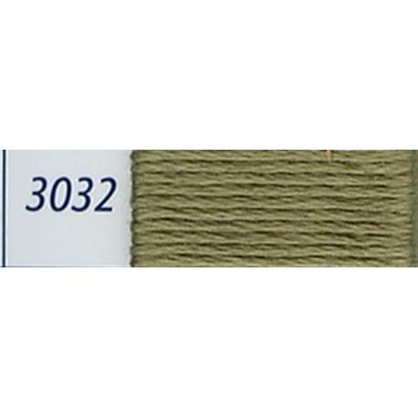 DMC mouliné embroidery thread, col. 3032