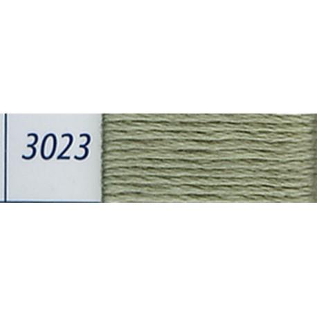DMC mouliné embroidery thread, col. 3023