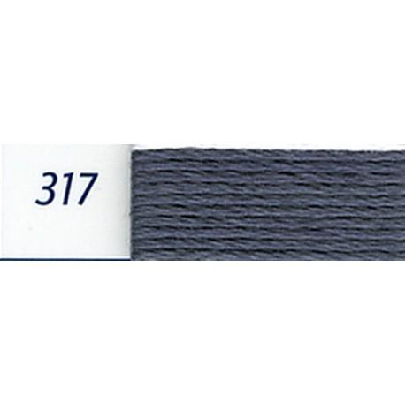 DMC mouliné embroidery thread, col. 317