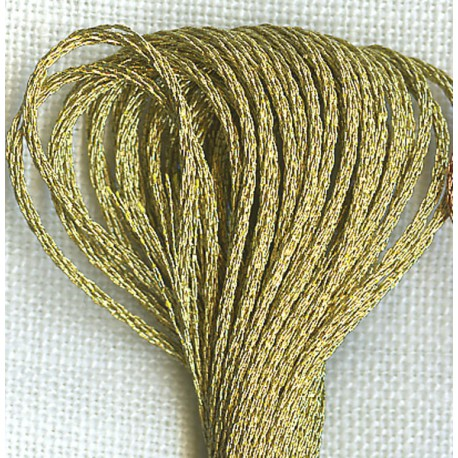 DMC  Mouliné Embroidery Thread, col. Gold E3821