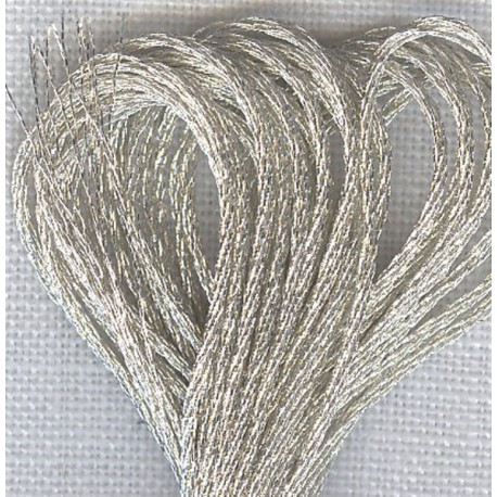 DMC  Mouliné Embroidery Thread, col. Light Silver E168