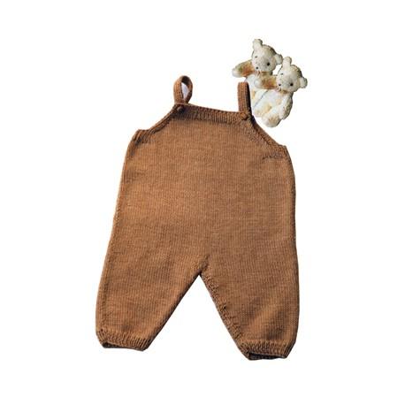 CITRONILLE knitting pattern N°18, Dungarees