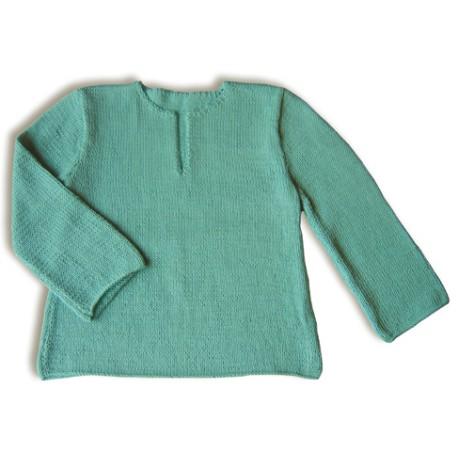 CITRONILLE knitting pattern N°22b, Jellaba tunic .