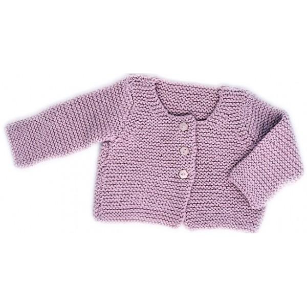 CITRONILLE knitting pattern N?30, Cardigan. - La Mercerie Parisienne
