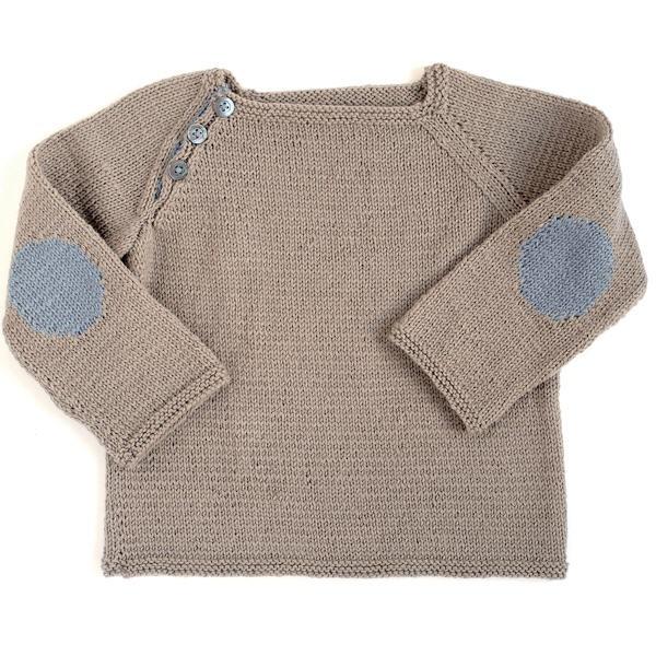 Citronille Knitting Pattern N45 Raglan Pullover La Mercerie