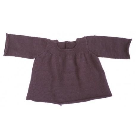 CITRONILLE knitting pattern N°46, Yoke-style vest.