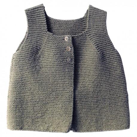 CITRONILLE knitting pattern N°50, The vest of estives.
