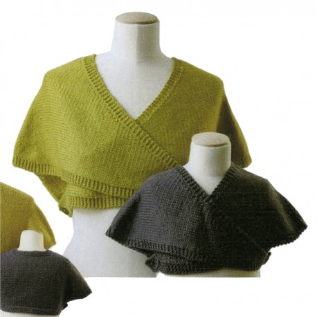CITRONILLE knitting pattern N°51, The warms heart. .