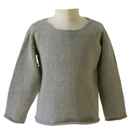 CITRONILLE knitting pattern N°52, The quite simple sweat.