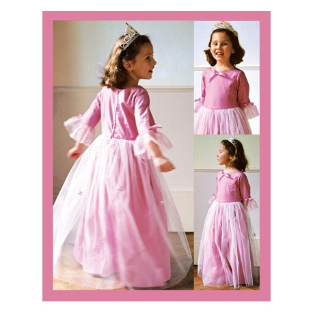 Citronille Sewing Pattern, Princess Fancy-Dress Pattern