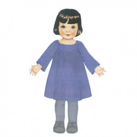 Citronille Pattern N° 190 Albertine. Ages : 2, 4, 6, 8 yrs.