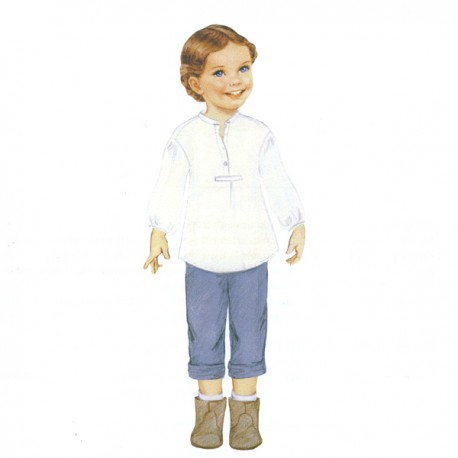 Citronille Pattern N° 192 Selma. Ages : 2, 4, 6, 8 yrs