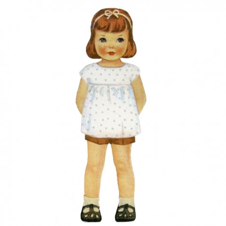 Citronille Pattern N° 193 Daisy. Ages : 2, 4, 6, 8 yrs.