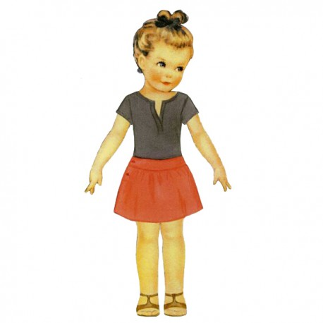 Citronille Pattern N° 194 Pélagie. Ages : 2, 4, 6, 8 yrs.
