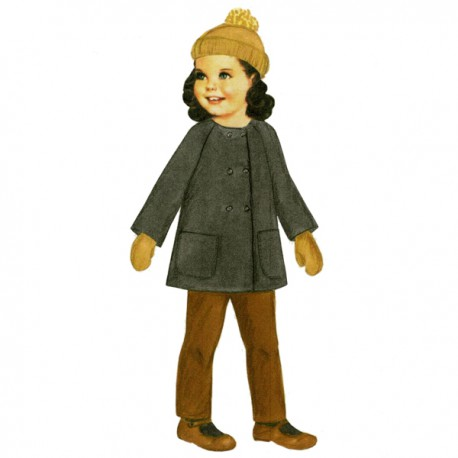 Citronille Pattern N° 197 Mischka. Ages : 2, 4, 6, 8 yrs.