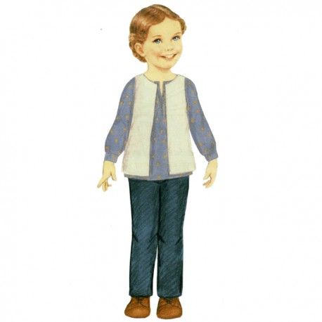 Citronille Pattern N° 200 Pablo. Ages : 2, 4, 6, 8 yrs.
