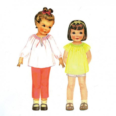 Citronille Pattern N° 203bis Pauline. Ages : 10, 12, 14, 16 a.