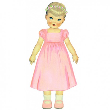 Citronille Pattern N° 205 Robe Priscille. Ages : 2, 4, 6, 8 a.