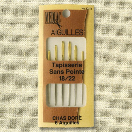 Assorted blunt type tapestry needles