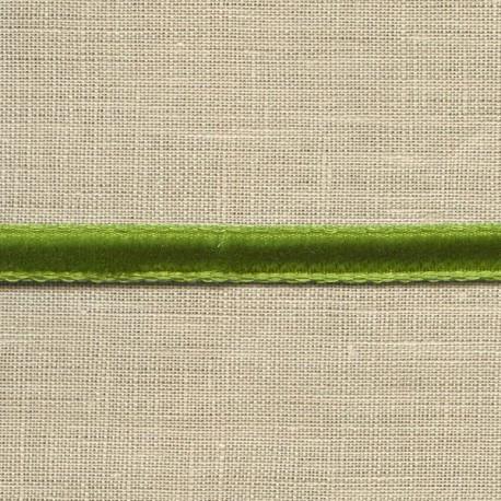 Mini velvet ribbon 5mm, col. Grass 68