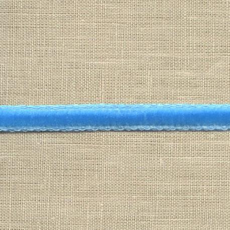 Ruban Mini velours 5mm, col. Glacier 25