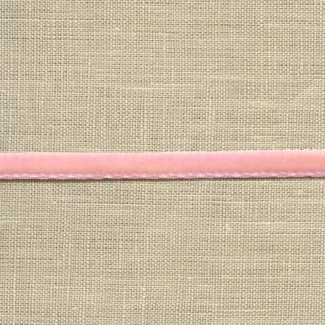 Mini velvet ribbon 5mm, col. Baby pink 92