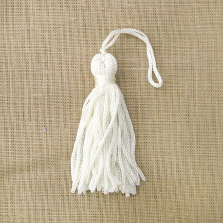 Little tassel, col. Ivory