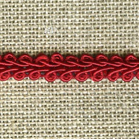 Interlacing braid, Cherry 97