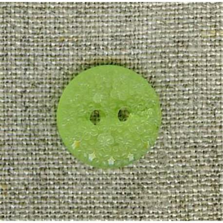 Citrus flower embossed children's button