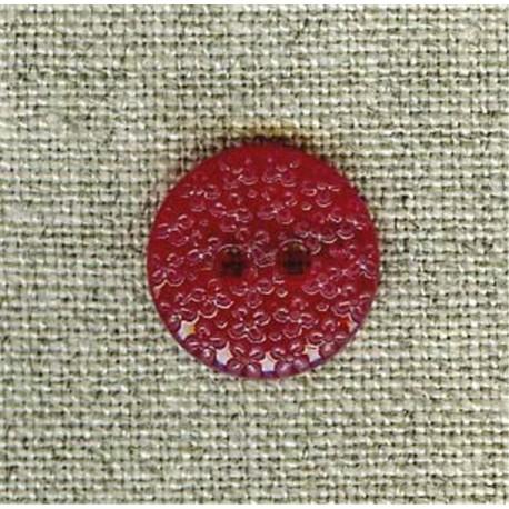 Grape flower embossed children's button